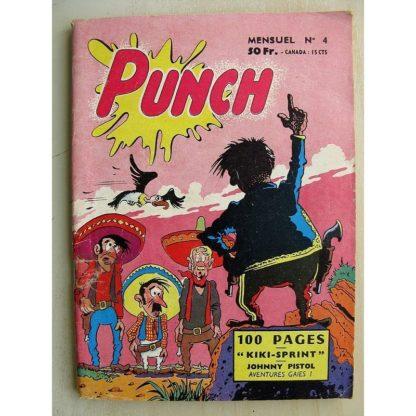 PUNCH N°4 KIKI SPRINT - JOHNNY PISTOL - KEVIN LE HARDI (SER 1958)