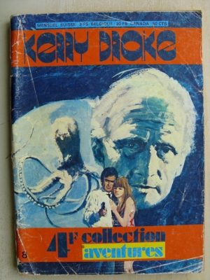 KERRY DRAKE N°8 L'AGENT SECRET (Rhodos Presse 1965)