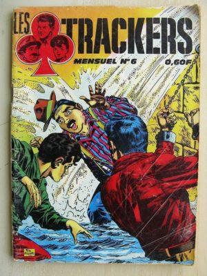 LES TRACKERS N°6 AUX MAINS DE MING LAO (Félix Molinari) IMPERIA 1969