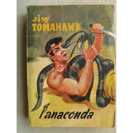 JIM TOMAHAWK ALBUM 4 - LA CITE DES INCAS (Ray Flo 1959)