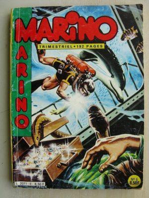 MARINO N°6 La collier sanglant – L'île de feu – Le baron corbeau (flamme de la forêt) IMPERIA 1984