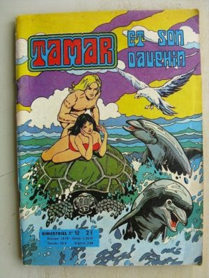 TAMAR ET SON DAUPHIN N°12 LE HEROS DES OCEANS – SFPI 1975
