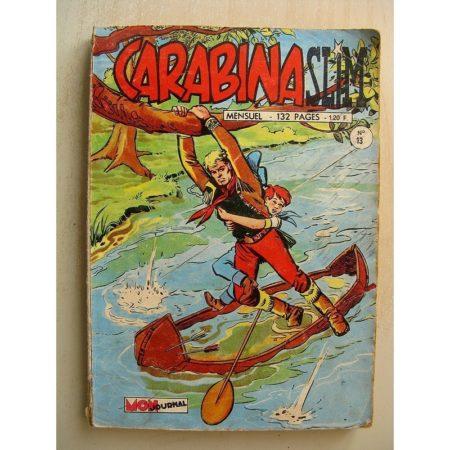 CARABINA SLIM N°13 LE REVOLVER D'OR - LA ROUTE DE L'OUEST (La vengeance des Sioux) Mon Journal 1968