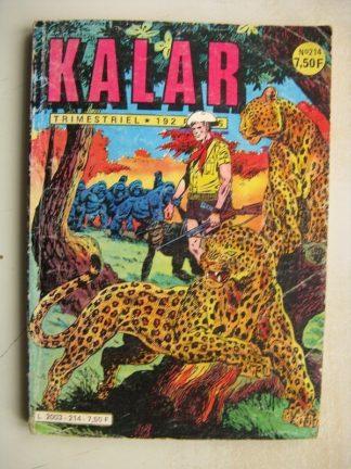 KALAR N°214 L'exode (Impéria 1982)