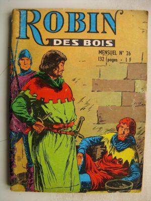 ROBIN DES BOIS N°26 L'oeuf de Moa – Jeunesse et Vacances 1966