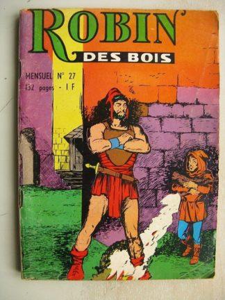 ROBIN DES BOIS N°27 Zoltan le terrible - LES 4 AS (Dernier Capocléphile) PETULA ROCK - KING JUSTICIER DE LA PRAIRIE