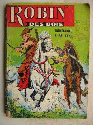 ROBIN DES BOIS N°38 La meute d'Andromas  – Jeunesse et Vacances 1968