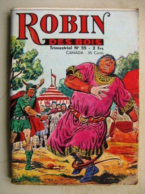 ROBIN DES BOIS N°55 Le trésor du roi Arthur – Jeunesse et Vacances 1972