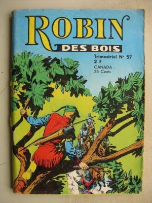 ROBIN DES BOIS N°57 La tour prend garde – Jeunesse et Vacances 1972