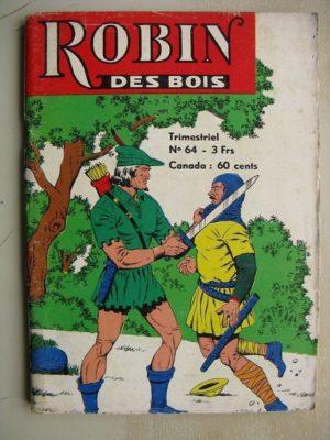 ROBIN DES BOIS N°64 Le fugitif – Jeunesse et Vacances 1974