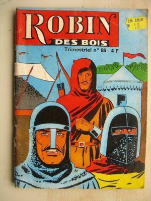 ROBIN DES BOIS N°86 L'anneau de rubis – Jeunesse et Vacances 1980