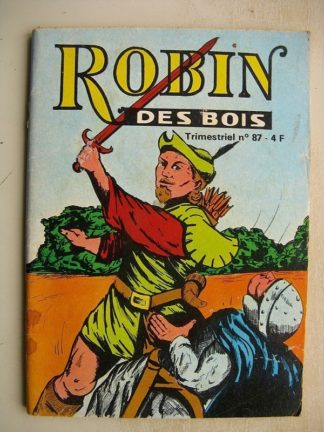 BD Petit Format - ROBIN DES BOIS N°87 Chevalier errant