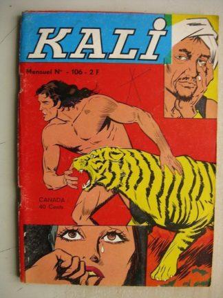 KALI (Fils de la jungle) N°106 La rançon du chasseur - Enquêtes et contre-enquêtes - Rosée d'étoiles (Jeunesse et Vacances 1975)