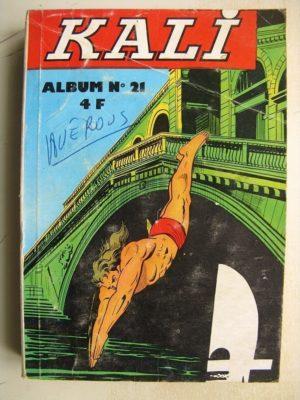 KALI Fils de la jungle ALBUM 21 (N° 81-82-83-84) Jeunesse et Vacances
