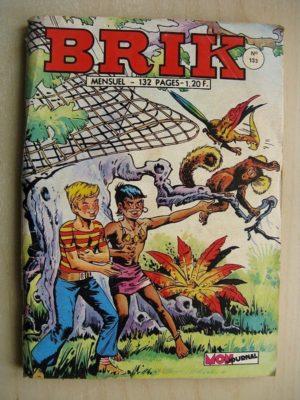 BRIK (Corsaire du Roi) N°133 Aux mains des Caraïbes - Rok l'homme invisible (la falaise des requins)