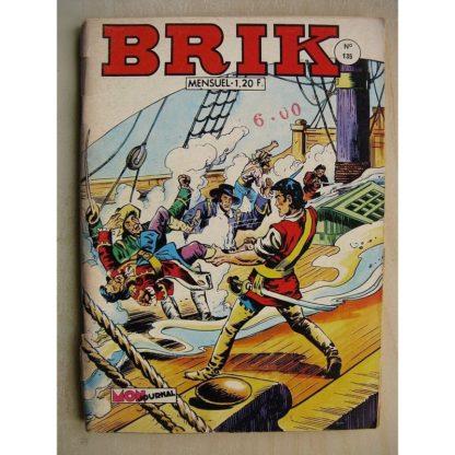 BRIK (Corsaire du Roi) N°135 La fille des bohémiens - Rok l'homme invisible (le quatrième jumeau)