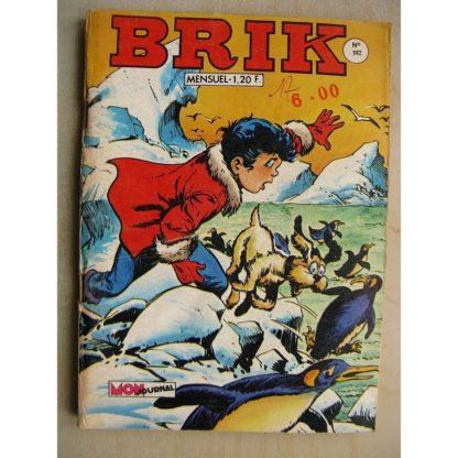 BRIK (Corsaire du Roi) N°142 Kobé chargé de mission - Rok l'homme invisible (l'île du conquistador)