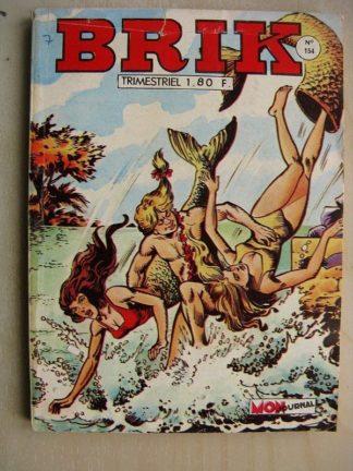 BRIK (Corsaire du Roi) N°154 La mitraille d'Or - Rok l'homme invisible (les pirates du ciel) Fishboy (L'homme noir)