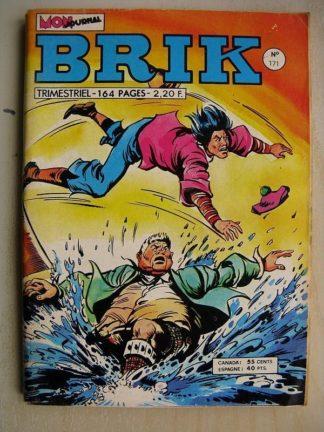 BRIK N°171 FISHBOY (Le rayon de la mort) Le serpent et le lion - LE CORSAIRE DE FER (Drame à Venise)