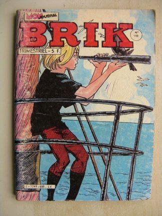 BRIK N°199 LE CORSAIRE DE FER (Mission impossible) Calico Jack (la voix des rois disparus) FILS DES BOIS (tête de turc)