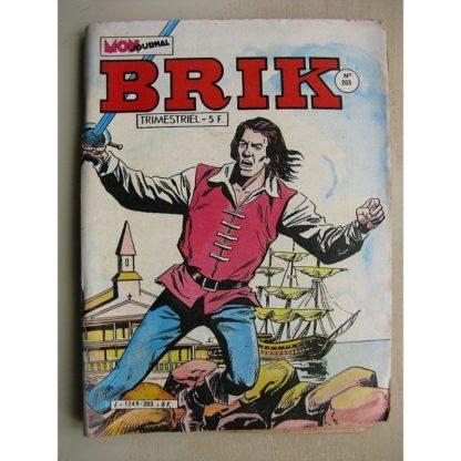 BRIK N°203 LE CORSAIRE DE FER (Les vautours) Calico Jack (Bouteille à la mer) FILS DES BOIS (Le fort d'Aigle Blanc)