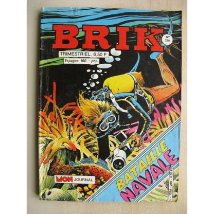BRIK N°210 LE CORSAIRE DE FER (Au pays des vampiresl) Calico Jack (Bossu Bouffon) MAX DES ILES (Le lagon de la mort)