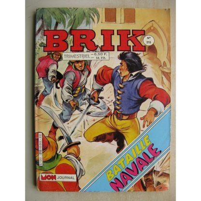 BRIK N°213 LE CORSAIRE DE FER (Le fantôme de Zoraïda) Calico Jack (Roi des cannibales) MAX DES ILES (Cap sur les caraïbes)