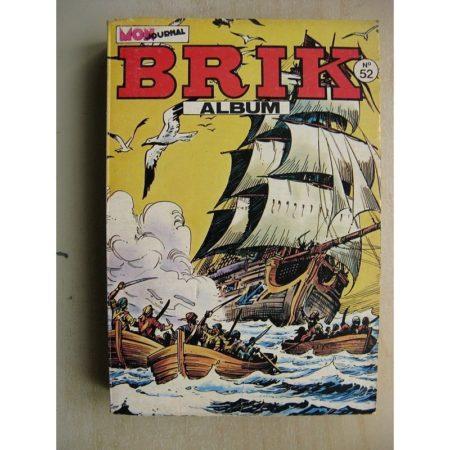 BRIK ALBUM 46 (N° 191-192-193) Le Corsaire de Fer - Sandokan