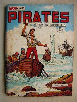 PIRATES n°52 Marok l'invincible (Le trésor de la maison perdue) Rurik le viking - Lord Tempest (MON JOURNAL 1973)