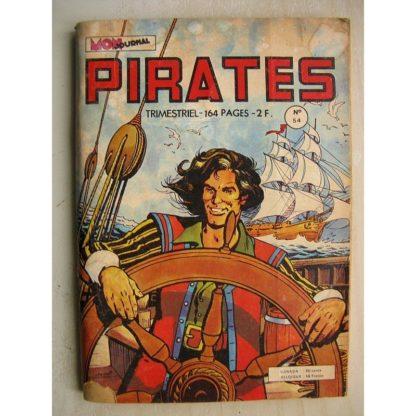 PIRATES n°52 Captain Rik Erik (vengeance de la pieuvre jaune) Gwenn le loup solitaire (MON JOURNAL 1974)