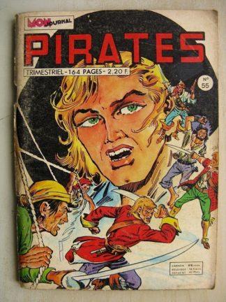 PIRATES n°55 Captain Rik Erik - Gwenn (Freya la mystérieuse) MON JOURNAL 1974