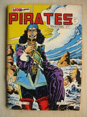 PIRATES (MON JOURNAL) n° 77 Captain Rik Erik – Le fort de Pareso