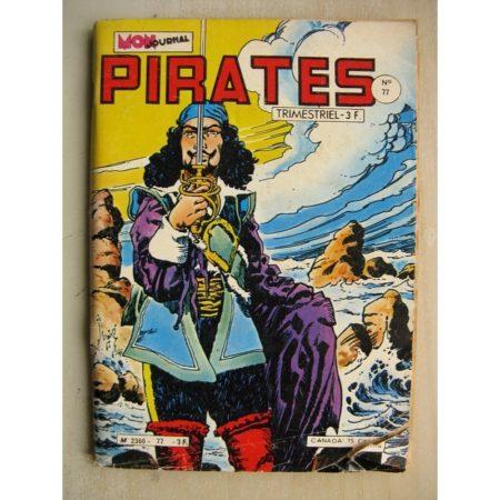 PIRATES n°77 Captain Rik Erik (Le fort de Pareso) Le Corsaire Noir - Biorn le viking (Forteresse sacrée) MON JOURNAL 19780