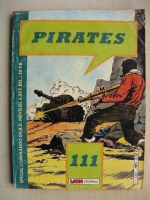 PIRATES (MON JOURNAL) n° 111 Les partisans – portes de l'enfer