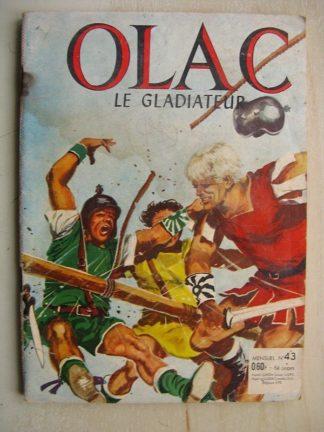 OLAC LE GLADIATEUR 1ère série N°43 Retour en Gaule (SFPI Jean Chapelle 1964)