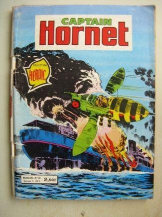 CAPTAIN HORNET N°40 Sabotage en mer (Courage exploit) Aredit 1980
