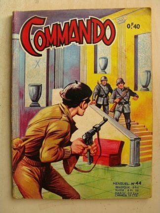 COMMANDO N°44 Mission d'un char sacrifié (Artima 1963)