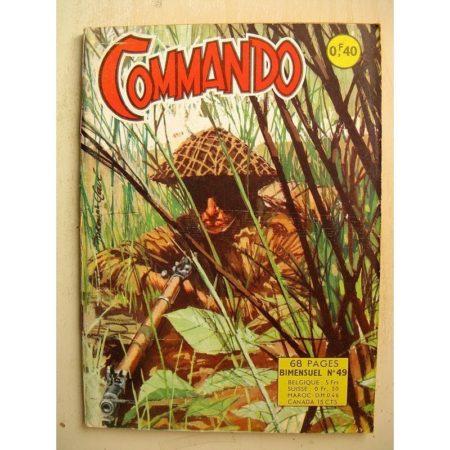 COMMANDO N°49 Ne manquez pas l'autobus (Artima 1963)