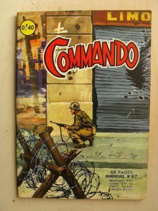 COMMANDO N°67 La dernière rose (Artima 1964)