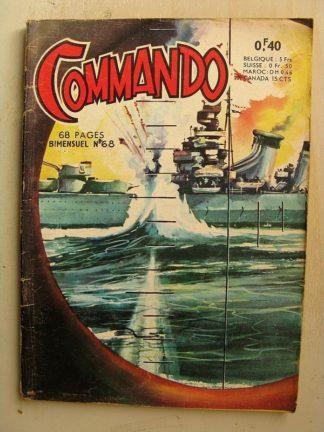 COMMANDO N°68 L'île aux fantômes (Artima 1964)
