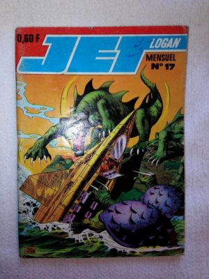 JET LOGAN N°17 Le dragon des abîmes – IMPERIA 1969
