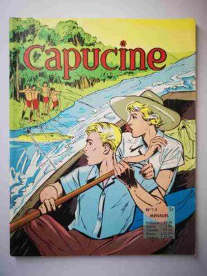 CAPUCINE (Danseuse étoile) N°13 Les forêts d'Amazonie – SFPI 1966