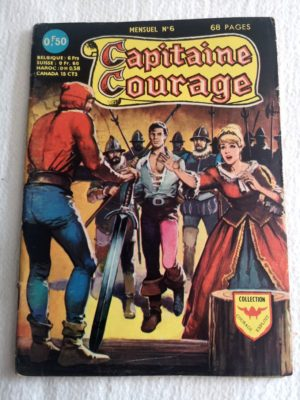 CAPITAINE COURAGE N°6 Un passage difficile (Aredit 1967)