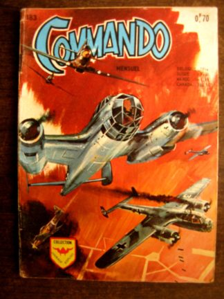 COMMANDO N°183 AREDIT 1970