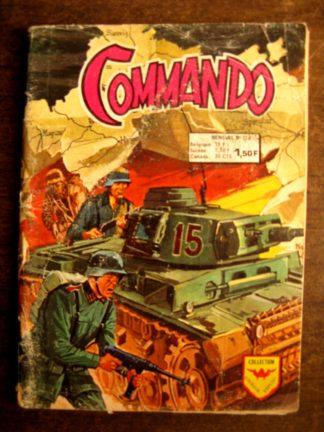 COMMANDO N°224 AREDIT 1974