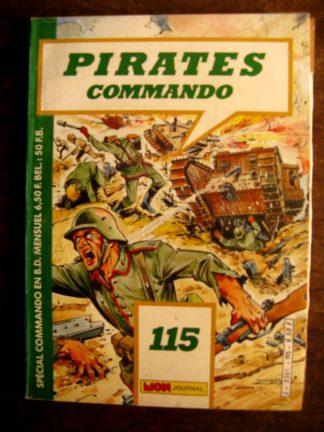 Pirates Commando n°115 MON JOURNAL