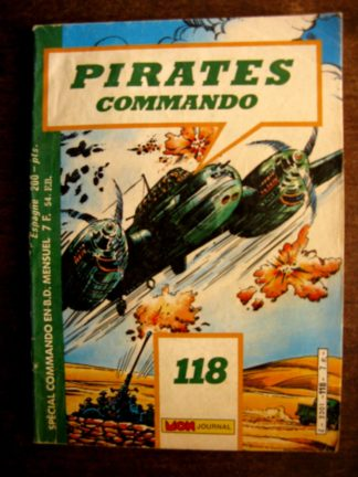 PIRATES COMMANDO N°118 MON JOURNAL