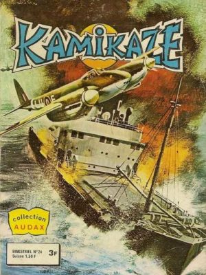 KAMIKAZE N°24 – La menace des sept samouraï – AREDIT 1980