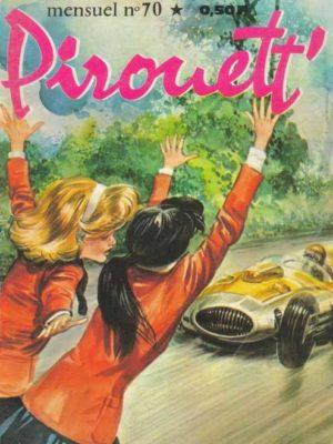 PIROUETT N°70 Virage dangereux – IMPERIA 1968