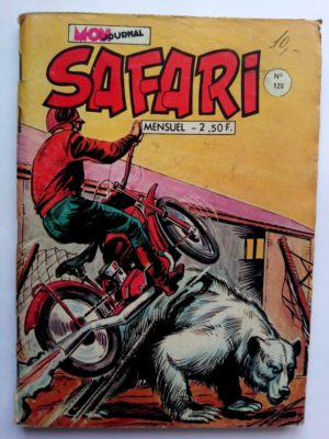BD SAFARI N°128 Mon Journal